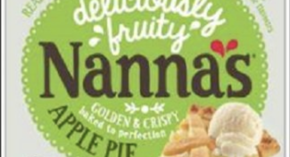Nanna's Family Apple Pie (600gm) Recall