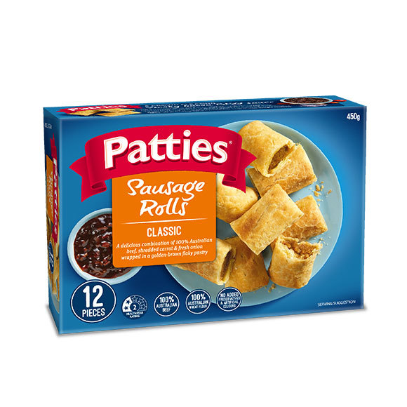 Patties Sausage Rolls - 12 Piece